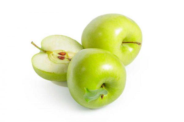 Apfel-Granny-Smith-Lage
