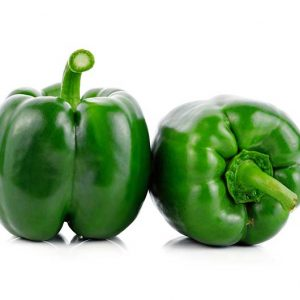 Paprika-Grün