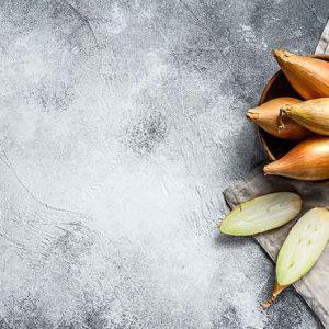 Zwiebel-Bananenschalotten