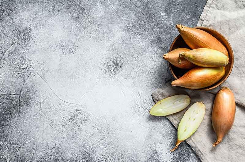 Bananenschalotten